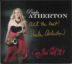 Paula Atherton - Can You Feel It? Autographed CD - NEW RELEASE!