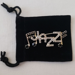 Jazz Pin with Notes