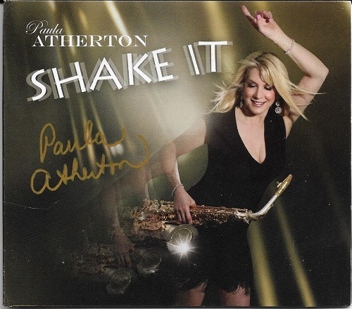 Paula Atherton - Shake It Autographed CD